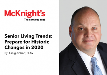 Senior Living Trends: Prepare for Historic Changes in 2020